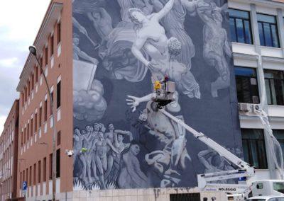 scaranidesigner Ratto delle Sabine /feat/ Giudizio Universale #Ozmo